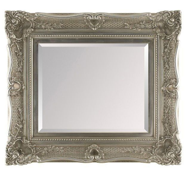 X Large Black Decorative Ornate Mirror - Other Frame Colours Available